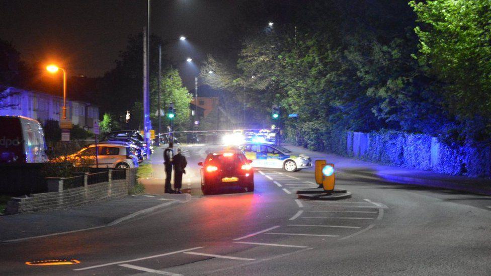 Morden Road crime scene