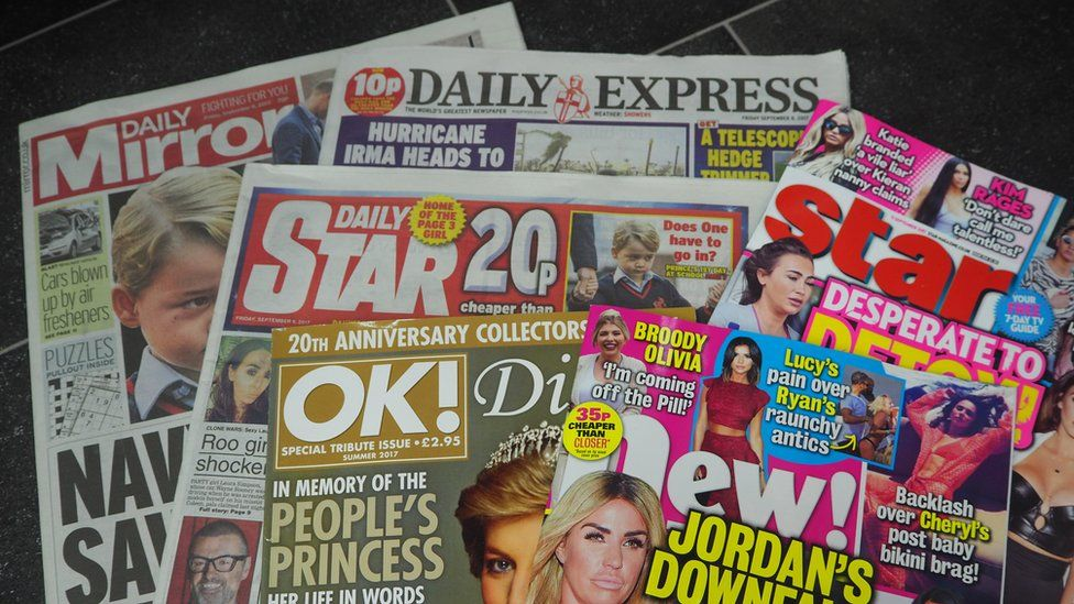 Trinity Mirror is working to merge with rival publisher Express Newspapers.