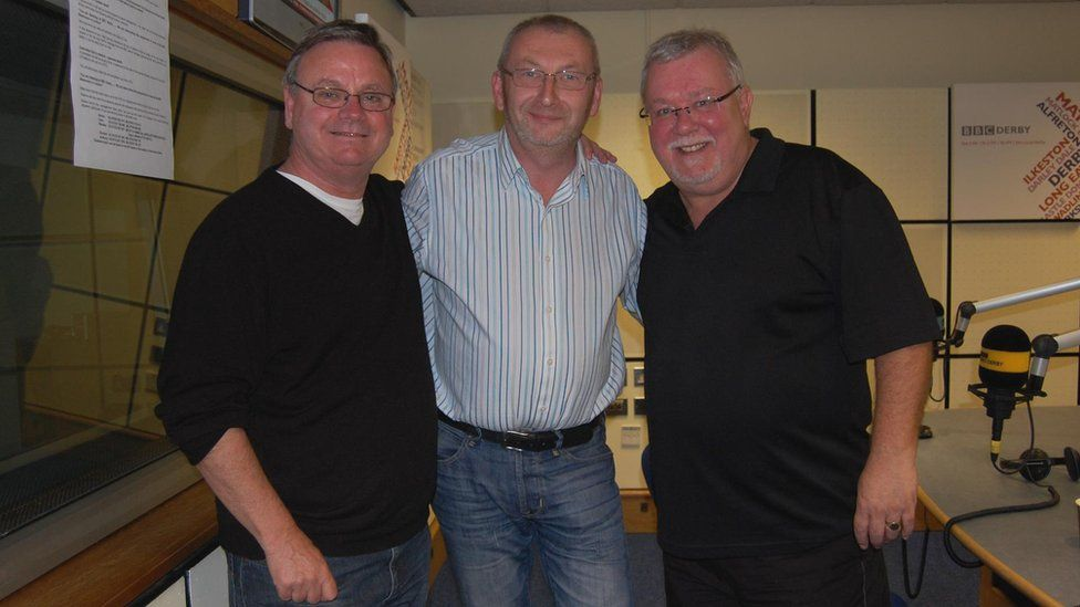 Andy Potter with Hale and Pace
