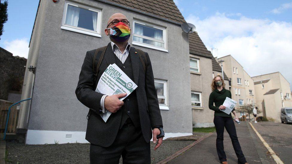 Scottish Green co-leaders Patrick Harvie and Lorna Slater