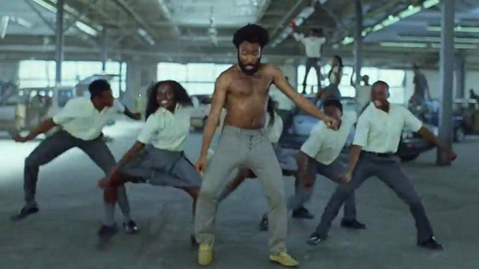Childish Gambino in the This Is America video