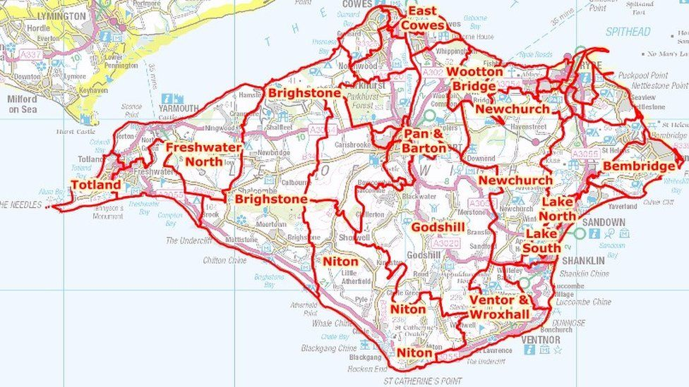 Isle Of Wight draft divisions