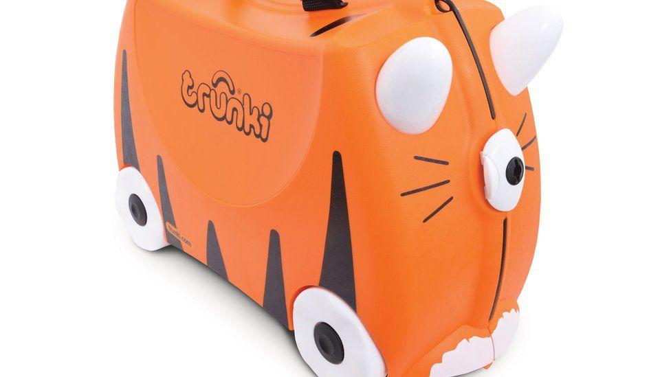 A Trunki children's suitcase