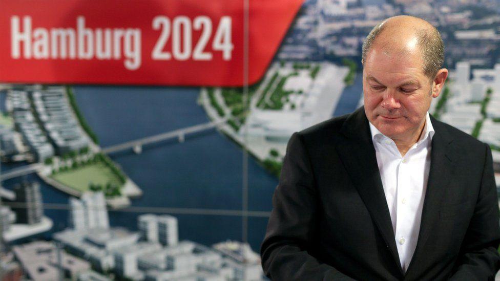 Olaf Scholz, mayor of Hamburg (30 Nov)