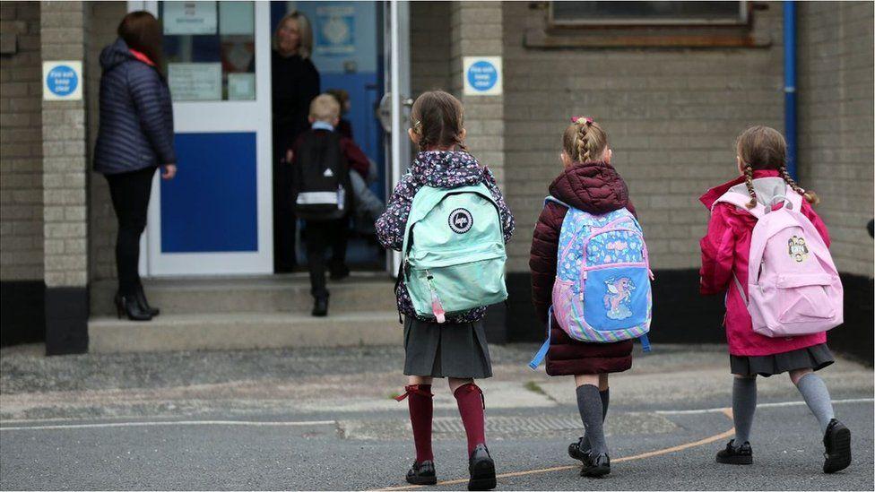 Schoolchildren in NI returning to school in September 2020