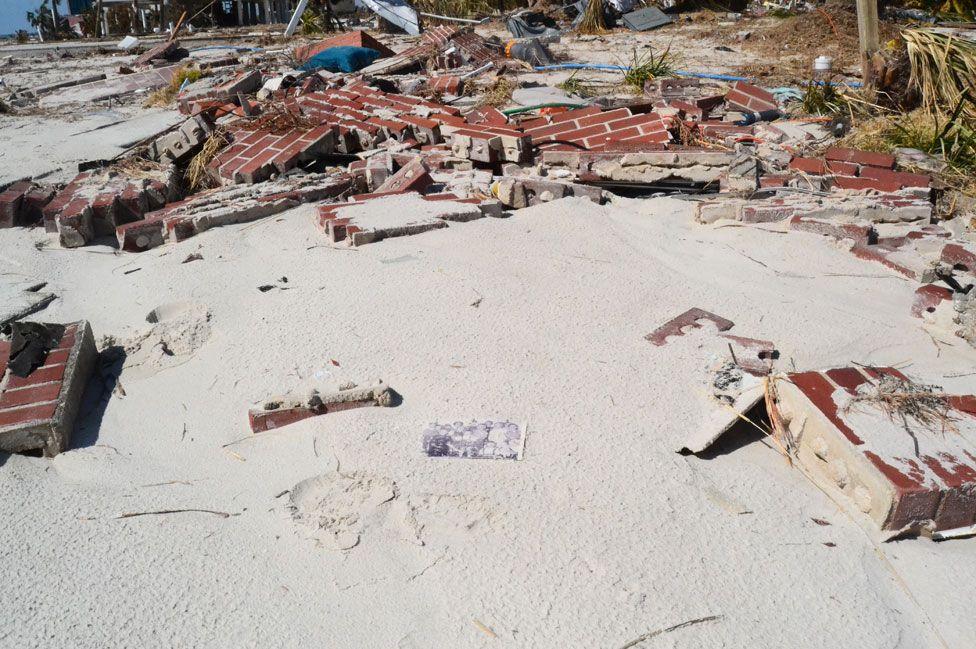 Devastation in Mexico Beach
