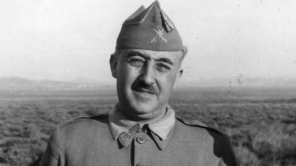 Francisco Franco, 1937'de fotoğraflandı