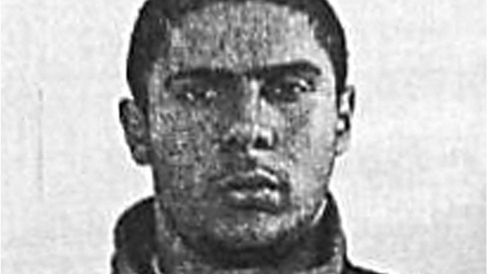 A file picture released on June 1, 2014 shows Mehdi Nemmouche, a 29-year-old suspected gunman who shot dead four people at the Jewish museum in Brussels, on August 15, 2005