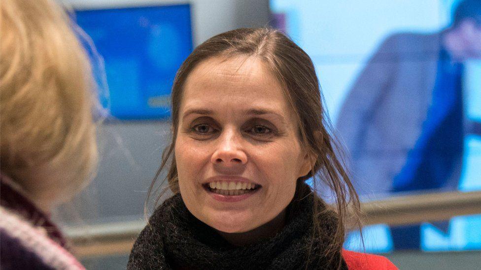 Iceland's Prime minister-designate: Katrin Jakobsdottir