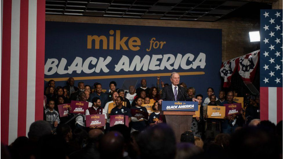 Mike for Black America rally