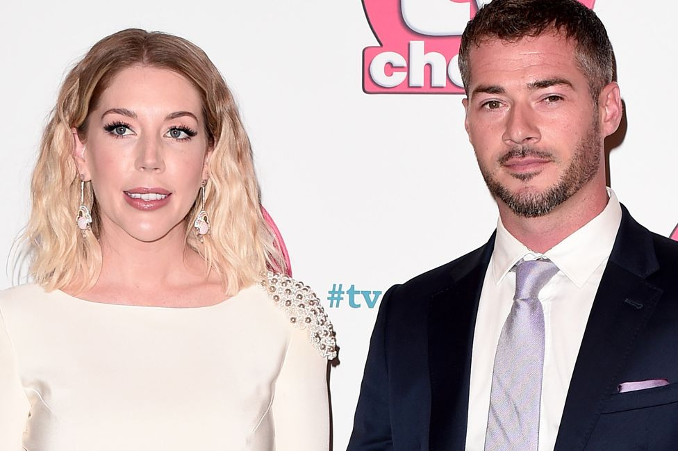 Katherine Ryan and Bobby Kootstra attend The TV Choice Awards 2019 in London on September 09, 2019.