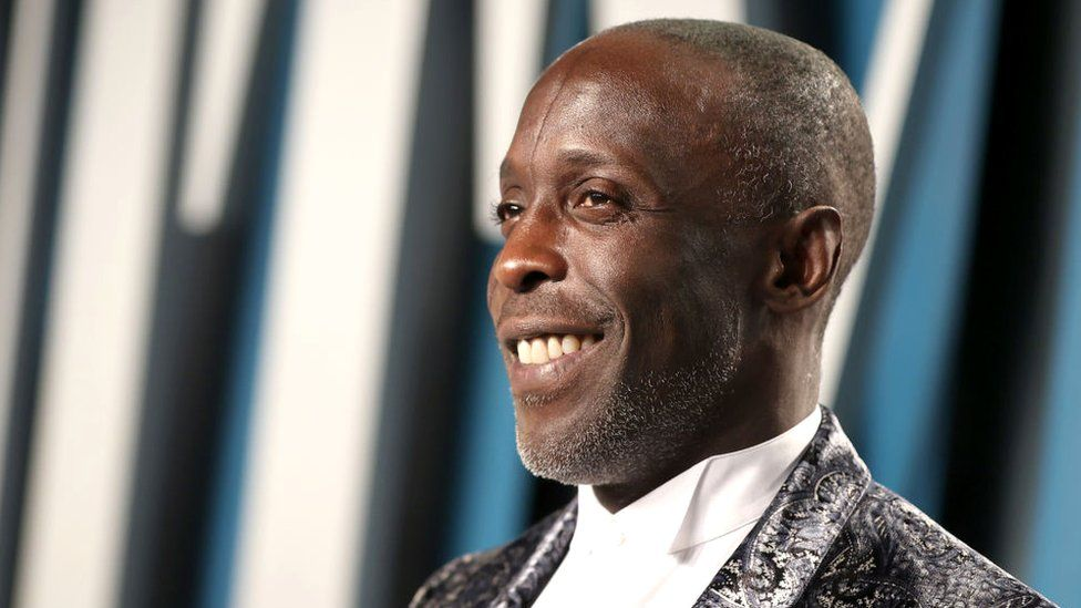 Michael K Williams attends the 2020 Vanity Fair Oscar Party in Beverly Hills, California