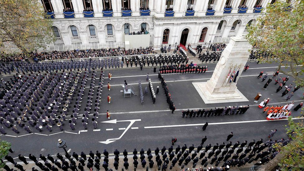 The Cenotaph in central London