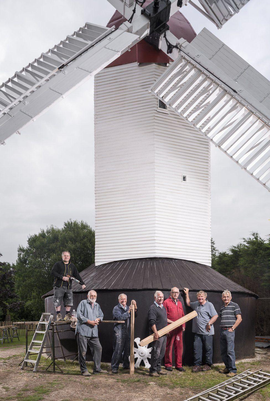 Argos Hill Windmill, Argos Hill, Mayfield, East Sussex