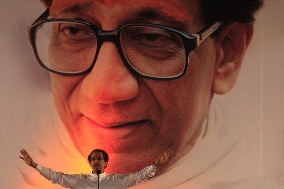 Bal Thackeray of Shiv Sena