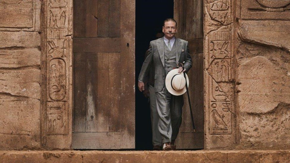 Kenneth Branagh in Death on the Nile