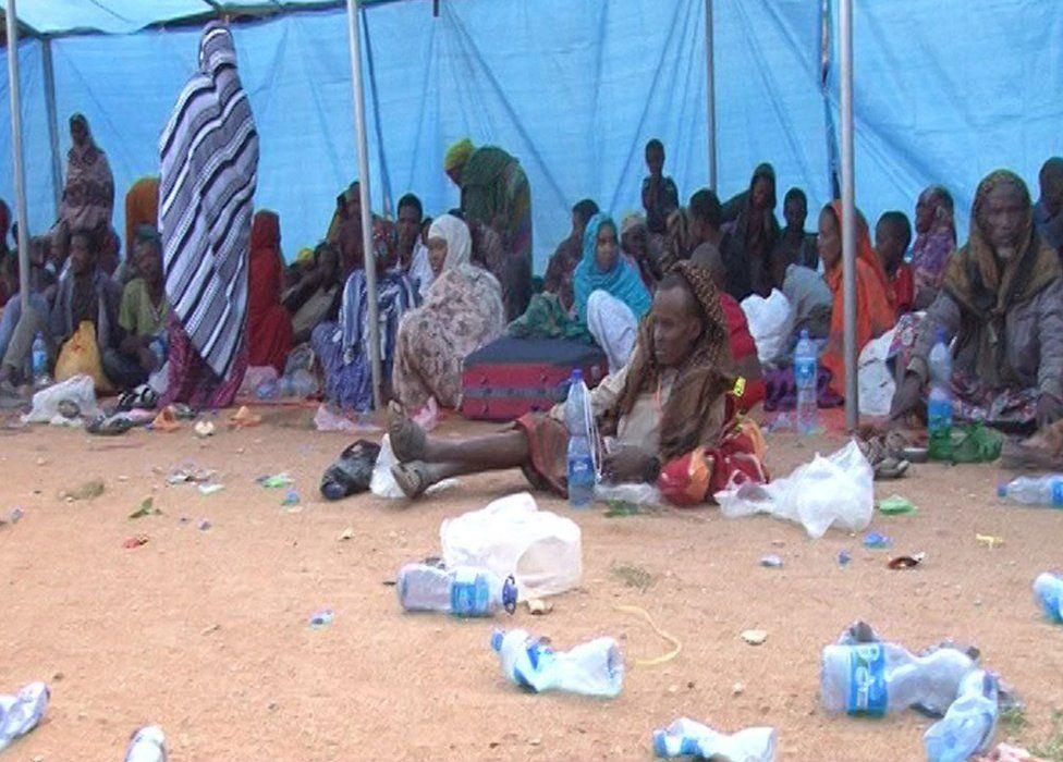 Displaced people