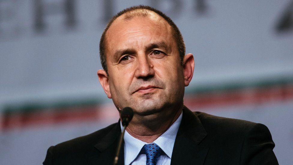 Bulgarian President Rumen Radev