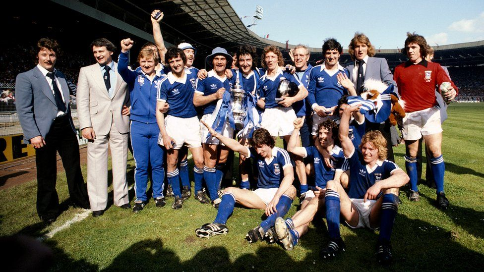 Ipswich Town 1978 FA Cup win