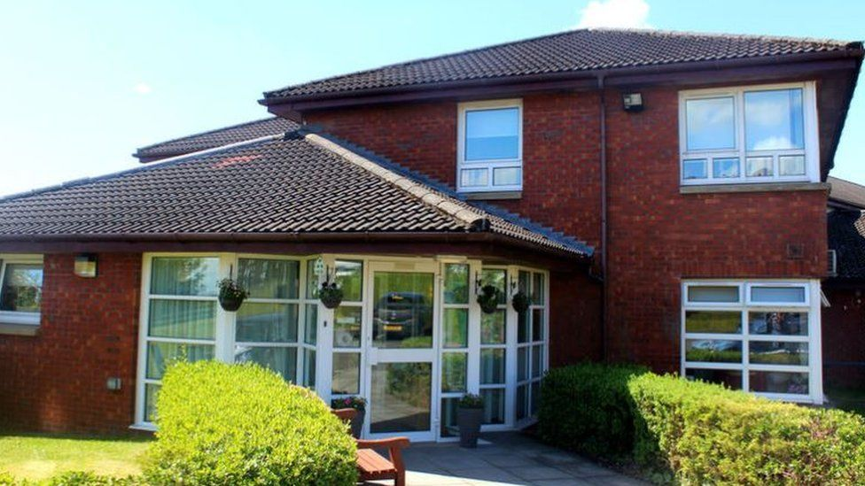 Almond Court Care Home in Drumchapel