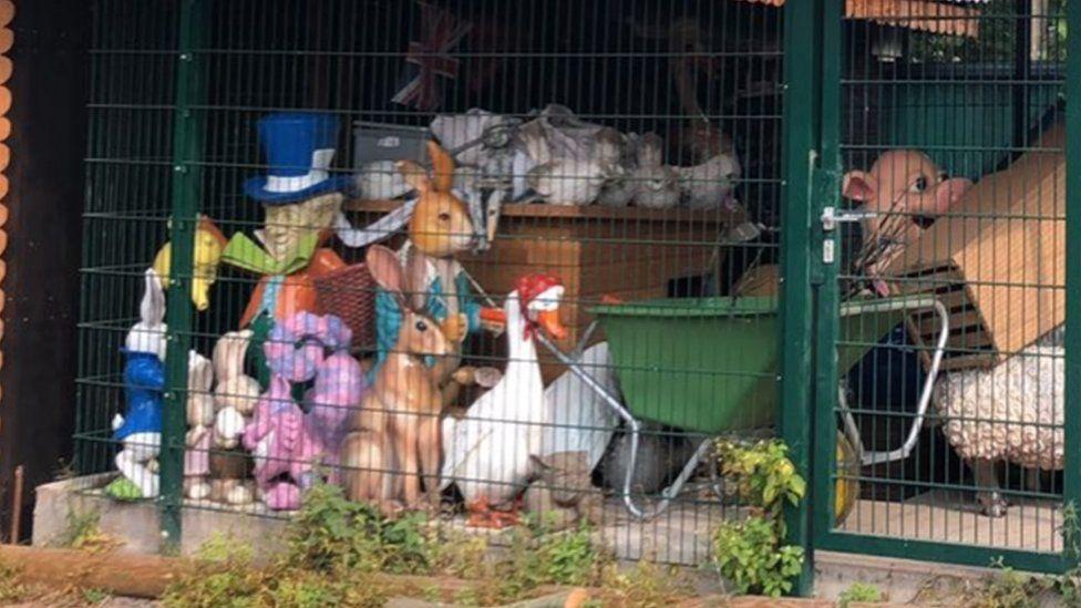 Peter Rabbit memorabilia