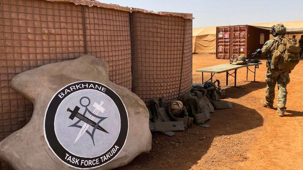 File photo from November 2020 of French forces in the Sahel