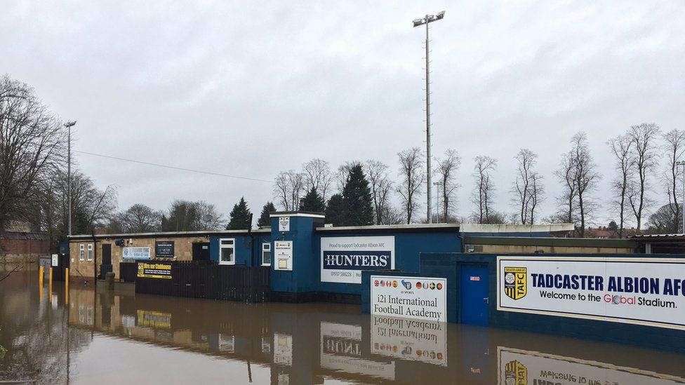 Tadcaster Albion's ground