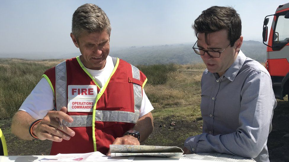 Andy Burnham meets the fire service