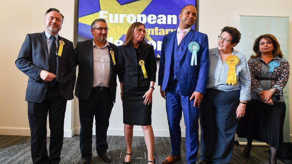 Scotland's six new MEPs