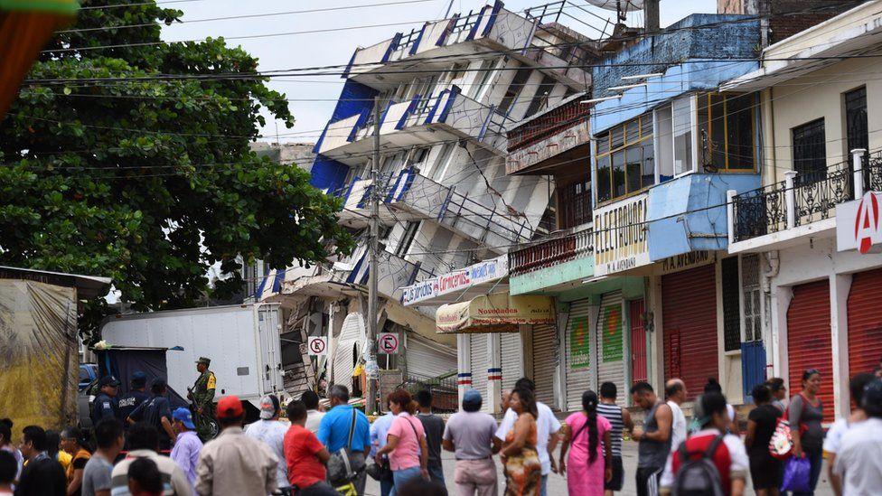 Terremoto de magnitud 8,2, el mayor en un siglo, sacude el suroeste de México, deja al menos 61 muertos y miles de afectados