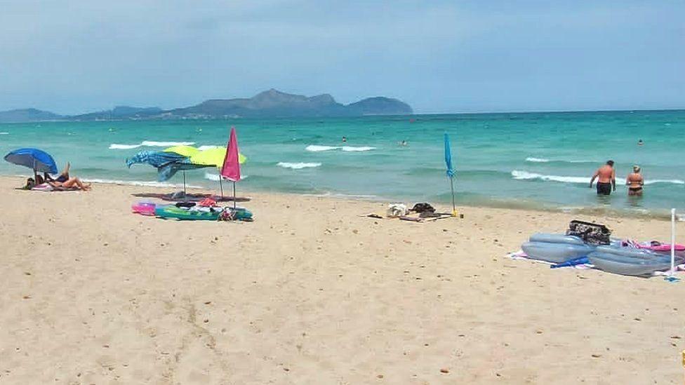 Beach in Majorca
