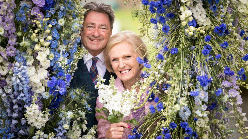 Alan Titchmarsh and Mary Berry