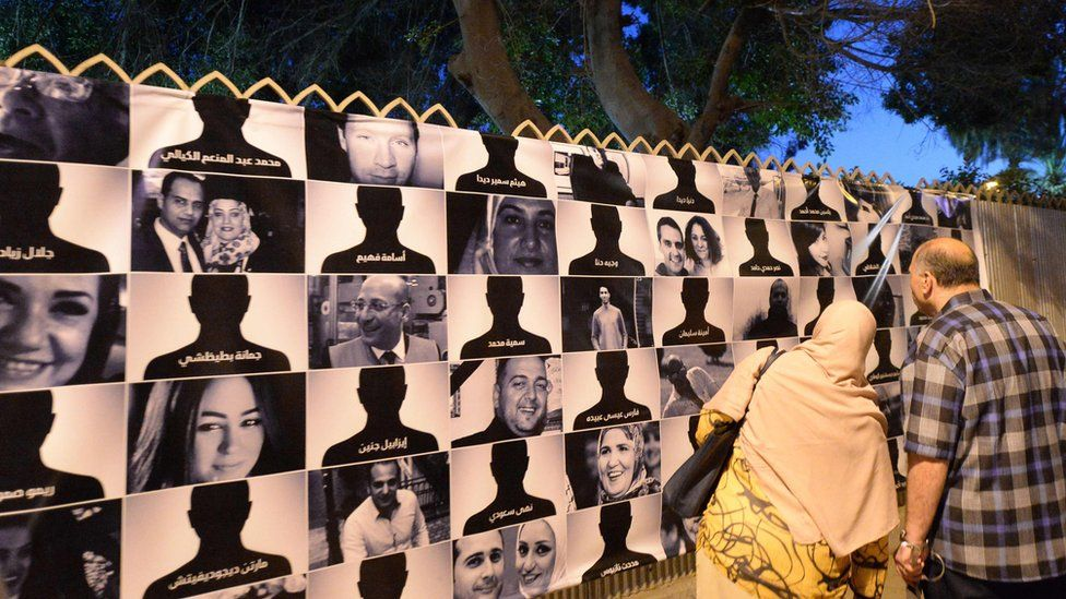 Portraits of those killed in the EgyptAir crash