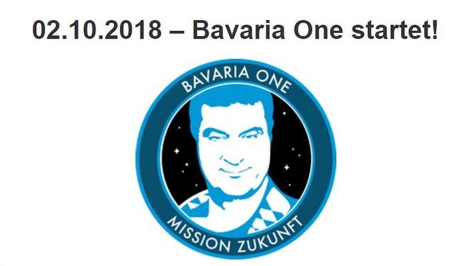 Bavarian Space Agency - Bavaria One logo