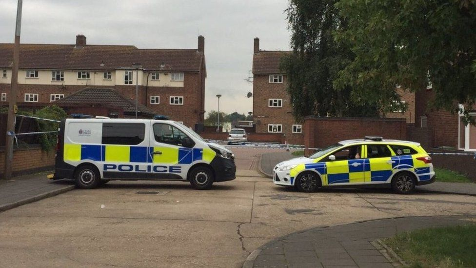 Scene of fatal stabbing in South Ockendon