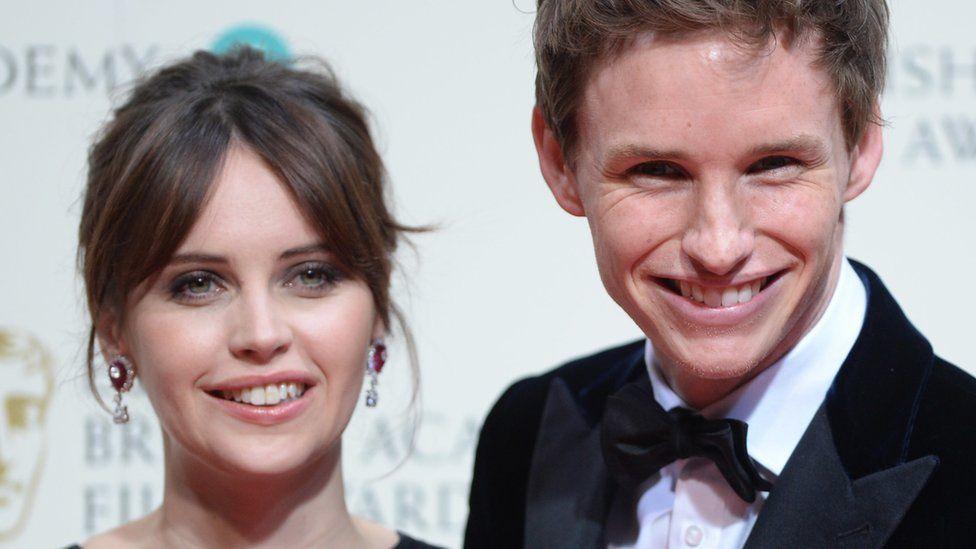 Felicity Jones And Eddie Redmayne Fly High At London Film Festival Bbc News