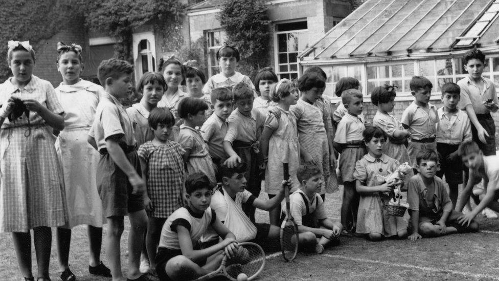Children at Pampisford