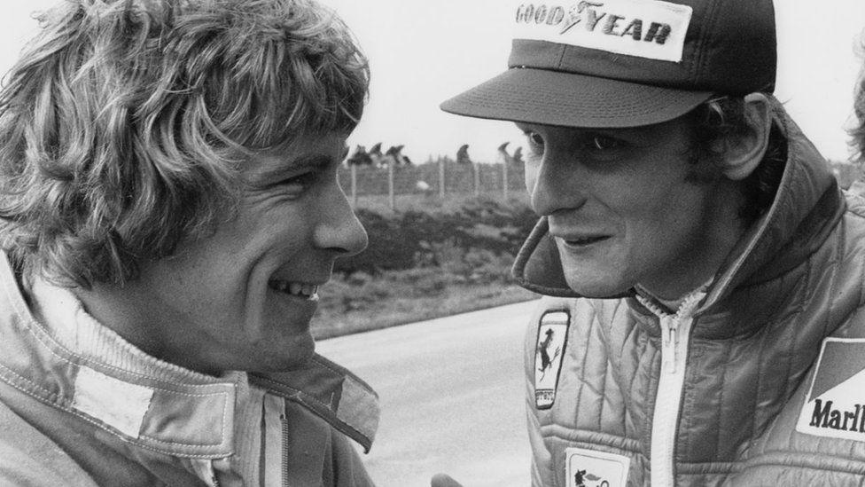 Niki Lauda and James Hunt, Grand Prix of Sweden, Anderstorp Raceway, 09 June 1974