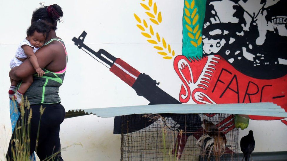 Arms-free zone known as Territorial Spaces for Training and Reincorporation in Tolima