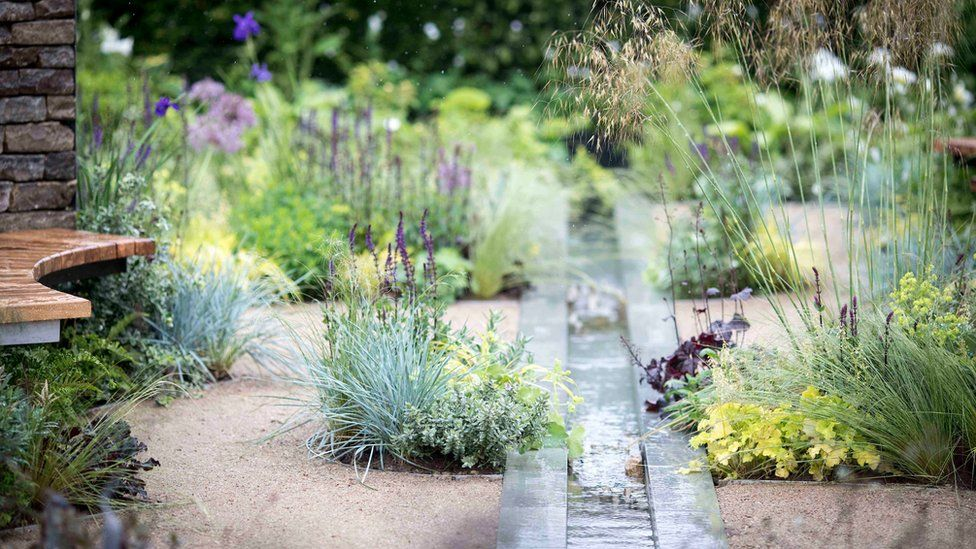Cruse Bereavement Care: A Time For Everything garden at RHS Chatsworth