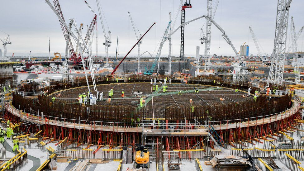 China is a major investor in the Hinkley Point nuclear power plant in Somerset
