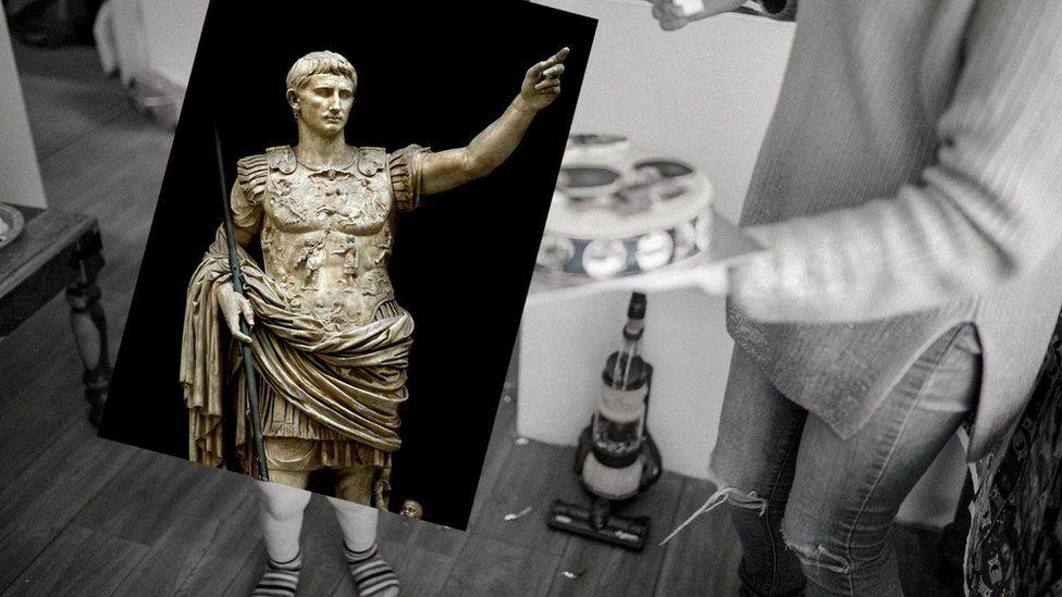 Август, перший римський імператор, помер у 75 років