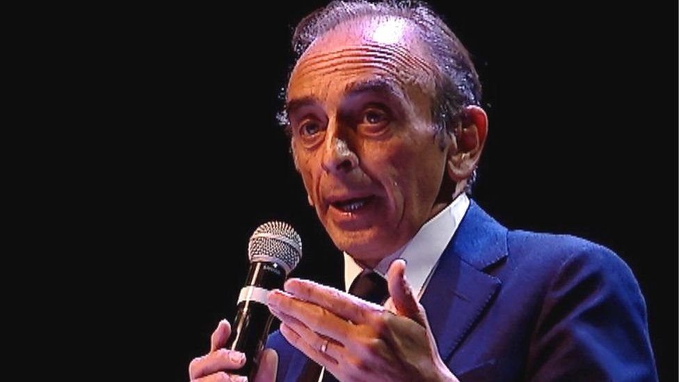 Eric Zemmour in Béziers, 16 Oct 2021