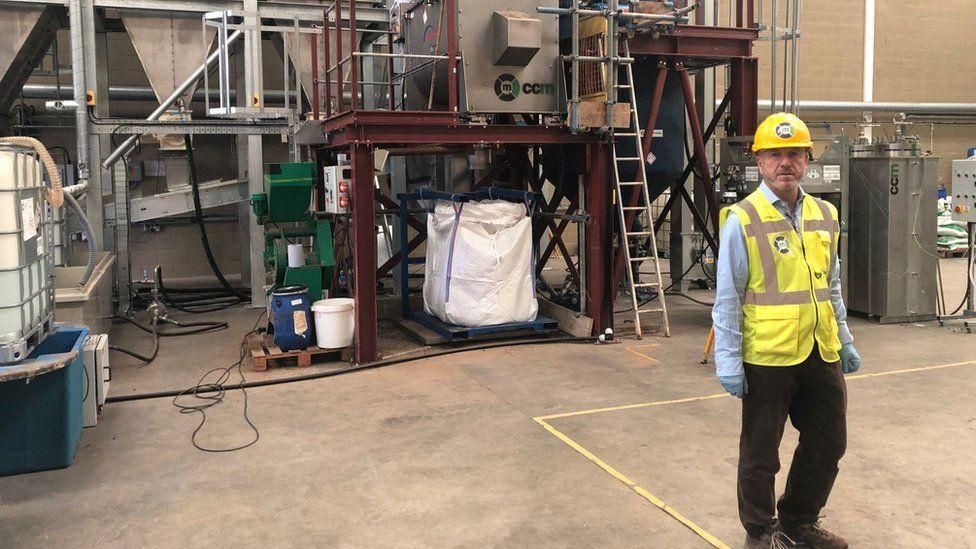 Fertiliser plant using CO2 in Swindon