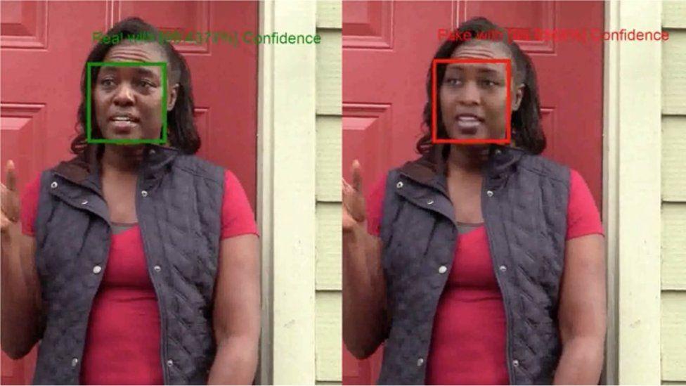Microsoft Video Authenticator screenshot