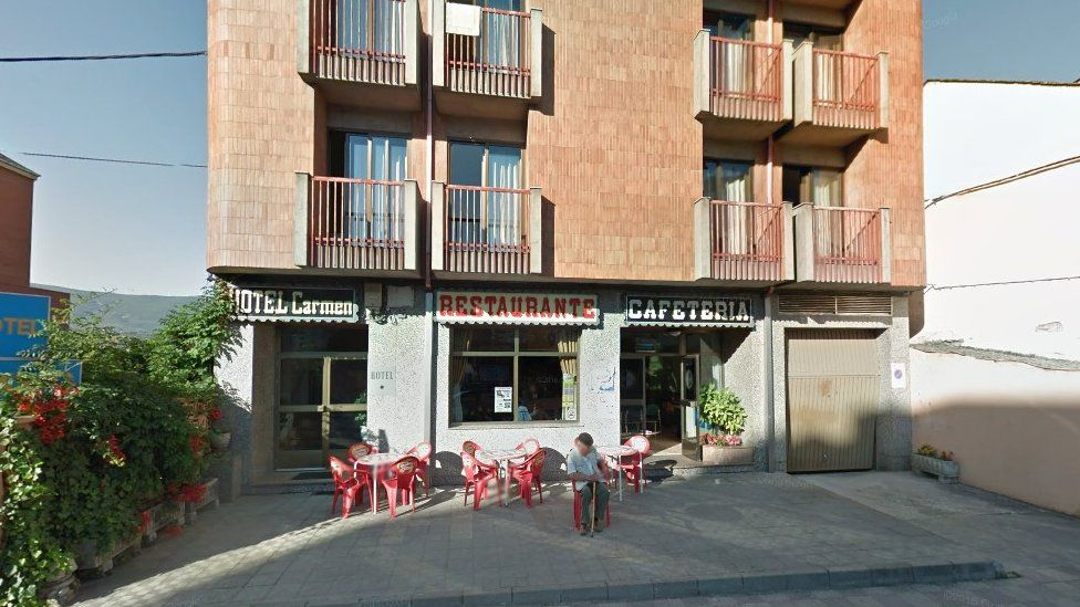El Carmen restaurant, which sits at the bottom of a small hotel