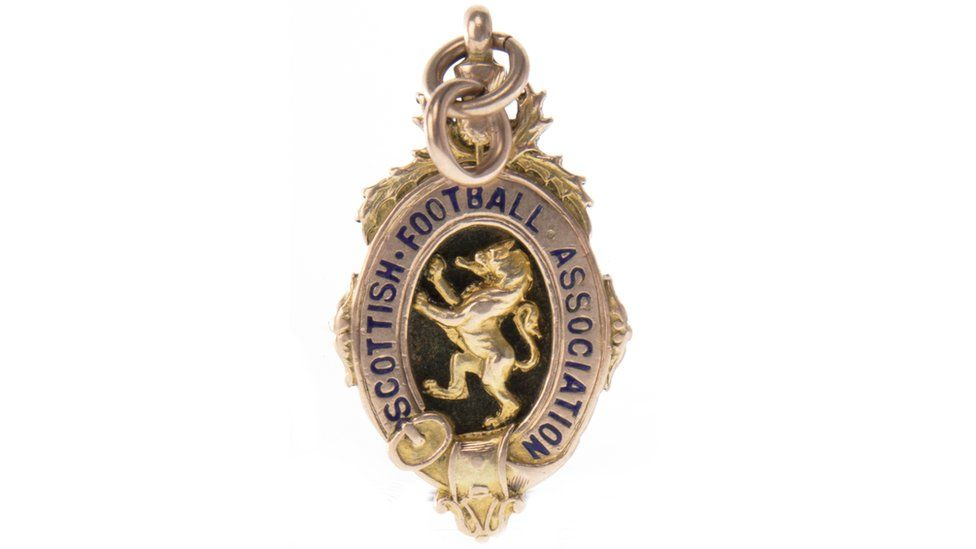 Scottish Cup medal won in 1923