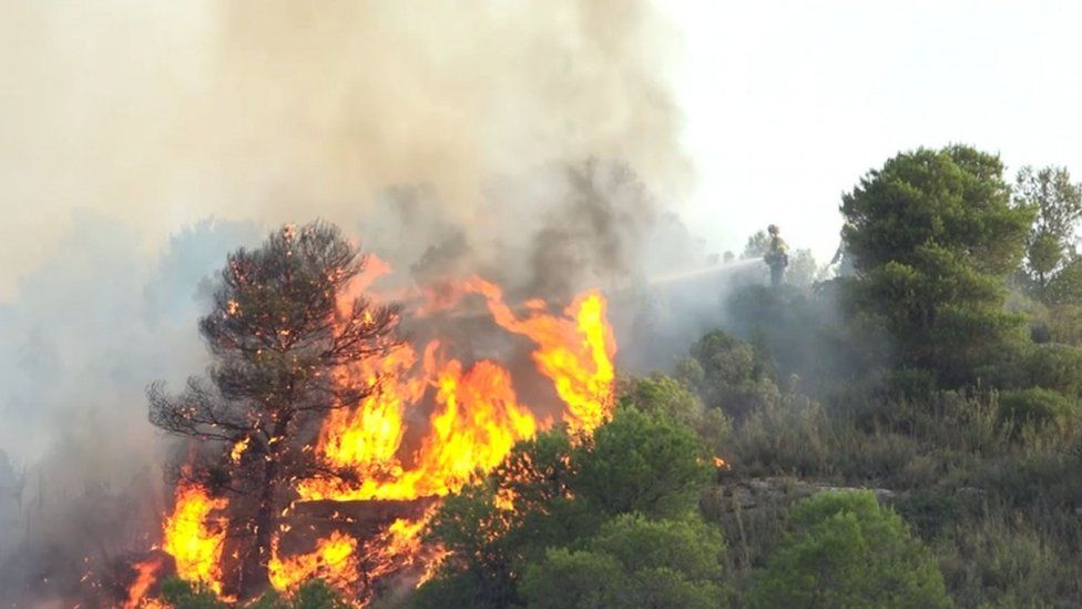 Fires in Catalonia - 27 June