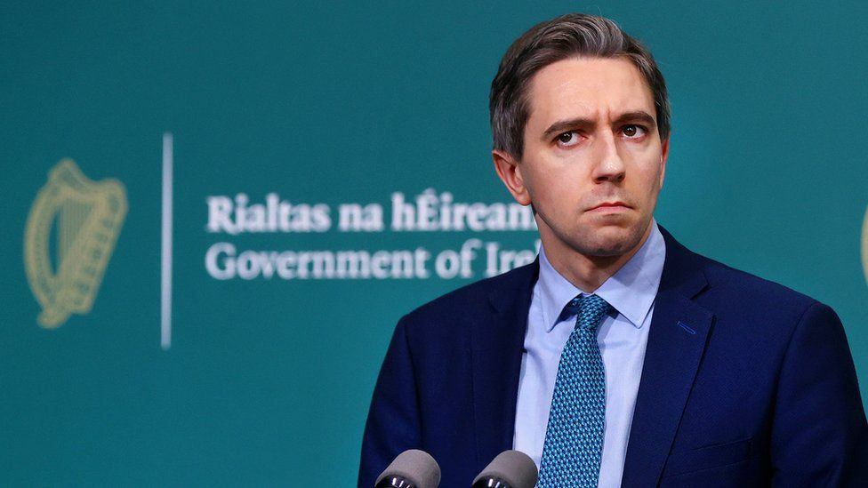 Irish Health Minister Simon Harris