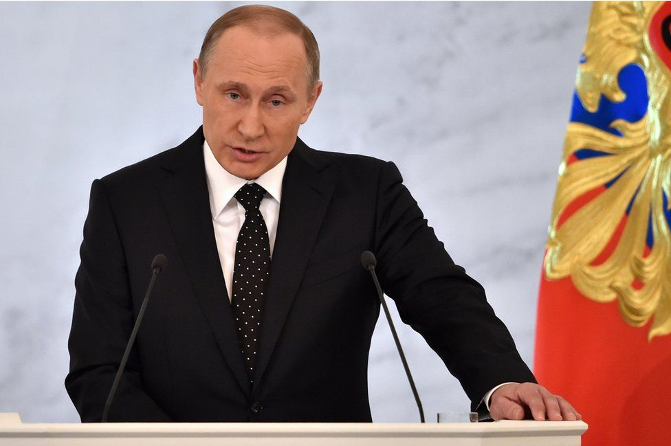 President Vladimir Putin (3 December)